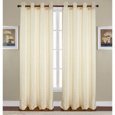 RT Designers Arbor Grommet Window Curtain Panel 54 x 84