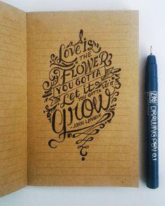 Mind Games... #johnlennon #mindgames #lennonlove #lennonlegend #zigdrawingpen #typographyart #typeart #victoriajournals #handlettering #lettering #handmadeart #handmadefont by albertcarlosmalonzo
