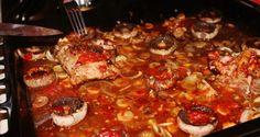 Marinated pork meat