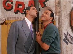 "George Guetary and Gene Kelly singing ""S Wonderful"" An American in Paris 1951"