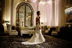 Stewart Parvin bridal gowns - chic, elegant and fabulous. Visit stewartparvin.com.