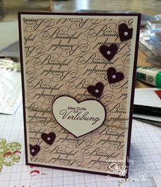 <3 verlobung-stampin-up-281010. #Valentines #Cards