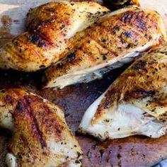 Grilled Greek Chicken Recipe