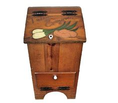 Vintage Taters and Onyons wooden bin  Farmhouse  by wonderdiva, $40.00