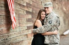 Engagement Photos of West Point Student and Fiancee by Zen Photography | Two Bright Lights :: Blog