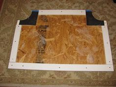 DIY: padded headboard