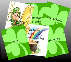 St.Patrick's Day Artic. Cards for /r/: -  Pinned by @PediaStaff – Please Visit http://ht.ly/63sNt for all our pediatric therapy pins