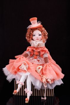 Авторская, коллекционная, будуарная кукла Джиозетта. Обсуждение на LiveInternet - Российский Сервис Онлайн-Дневников Clay Dolls, Art Dolls, Doll Home, Personalized Gifts For Her, Happy Pictures, Polymer Clay Art, Paper Mache, Bjd, Sculpting