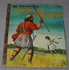 Little Golden Book, David and Goliath