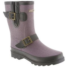 BEARPAW Deep Purple Charlie Rain Boot