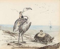 Georgina Berkeley. Untitled page from the Berkeley Album, 1867/71