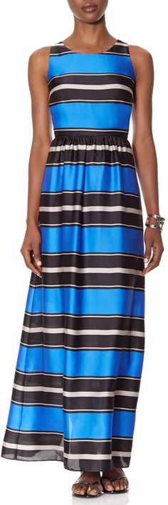 Pin for Later: Perfect Maxi Dresses For Lazy Spring Days  The Limited striped blue maxi dress (£59)