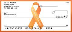 Leukemia Awareness Ribbon from Checks-SuperStore.com