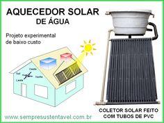 AQUECEDOR SOLAR DE ÁGUA PARA BANHO