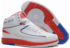 sports shoes 4e3fb b9228 Air Jordan Shoes Air Jordan 2 Retro Rip City White Red Blue  Air Jordan 2 -  Take a look at another style in white, red and blue of the Air Jordan 2 ...
