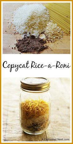 Copycat Rice-A-Roni Recipe |  This is a great side dish to serve & you probably have all the ingredients in your pantry.