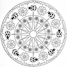 59 Mejores Imágenes De Mandalas Primavera Coloring Pages Coloring