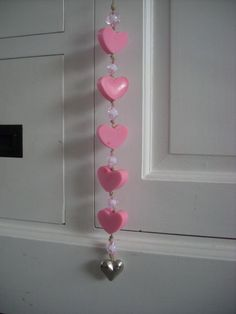 Zeepketting harten roze