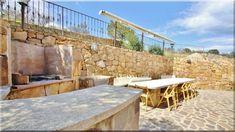 kerti konyha mediterrán stílus - Luxuslakások és házak