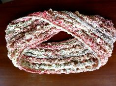 Handspun Möbius cowl by EknaKnits on Etsy, $50.00