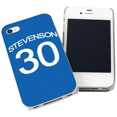 Personalised Chelsea Style Shirt iPhone Case  from Personalised Gifts Shop - ONLY £14.99