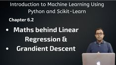This video contains Chapter - 6.2. In this chapter, I've explained the detailed maths behind Linear Regression and how Gradient Descent Algorithm works.  In this video, we'll be doing everything in python which is internally taken care by scikit learn. This is only for demonstration purpose. We should use scikit learn even when we know everything about it because it is fast and takes cares of training the model.  Hope it helps you to learn about how Linear Regression actually works