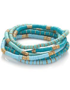 Discy Stretch Bracelets discovered on Fantasy Shopper Handmade Accessories, Women's Accessories, Boho Jewelry, Fashion Jewelry, Jewellery, Homemade Bracelets, Ankle Bracelets, Stretch Bracelets, Gold Bracelets