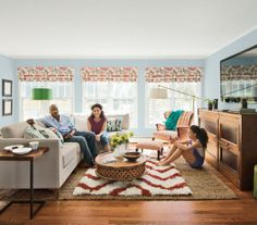 Use a large, inexpensive sisal rug as a base, and layer it with a small version of the pricier rug you love.