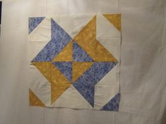 Snowball Quilts Using 5 Squares   Block made of half-square triangles with snowball ...   Quilts I fancy
