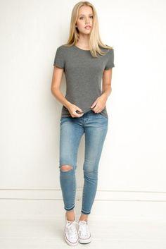 Brandy ♥ Melville | Margie Top - Tees - Tops - Clothing