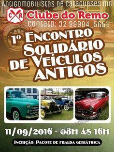 1º Encontro Solidário de Veículos Antigos