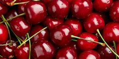 The benefits of cherries include weight loss, gout healing and lowering inflammation, among others. These delicious cherry recipes are the cherry on top. Types Of Cherries, Dried Cherries, Health Benefits Of Cherries, Tart Cherry Juice, Cherry Recipes, Beautiful Fruits, Gout, Muesli, Metabolism