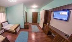 camera hotel coral iasi Romania, Flat Screen, Coral, Bed, Furniture, Home Decor, Pictures, Blood Plasma, Decoration Home