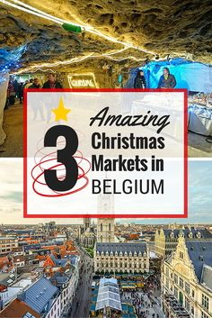 The Christmas Market season is in full swing and Belgium has some beautiful markets to get you in the holiday spirit. #christmas #market #Belgium
