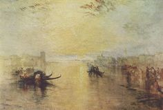 Turner, Joseph Mallord William: Venedig, San Benedetto, mit Blick auf Fusina (St. Benedetto, looking towards Fusina)