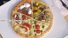 La ricetta della pizza tonda ai 6 pomodori di Gino Sorbillo del 19 gennaio 2016…