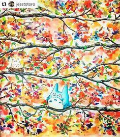 Super colorido e fofo!!!!! #Repost @jesstotoro with @repostapp  ・・・  #jardimsecreto #johannabasford #johannabasfordsecretgarden #secretforestocean #secretgardencoloringbook #secretgardenjohannabasford #coloriagepouradultes #colorindo #coloriage #livrodecolorir  #watercolorpainting #derwentinktenseblocks #derwentinktense #majesticcoloring #artecomoterapia  #boracolorirtop #totoro #myneighbourtotoro #watercolorpainting #watercolor #illustration #watercolours
