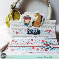 How to Say Howdy with a Handcrafted Hello Cowgirl Card
