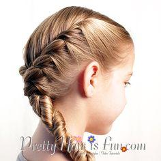 Pretty Hair is Fun: Double Side Twist Braids (Rope Braids)
