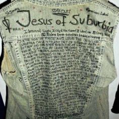 Who ever made this can marry me now.  Green Day,Jesus of Suburbia, American Idiot.