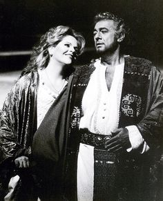 Two of the greatest!   Placido Domingo as Otello & Renee Fleming as Desdemona in Otello