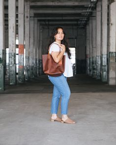 Shop the tote that thousands of customers love. Tote Bags, Fashion Backpack, Leather, Shopping, Collection, Carry Bag
