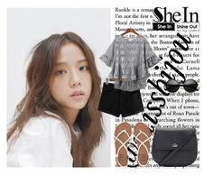 """""""Shein"""" by missbijou ❤ liked on Polyvore featuring WithChic, Kate Spade, Billabong, ZeroUV, kpop, Sheinside, BlackPink and shein"""
