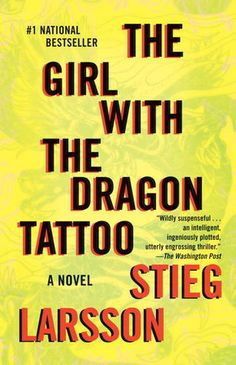 """The Girl With The Dragon Tattoo"", Stieg Larsson [Completed October 30, 2012]"