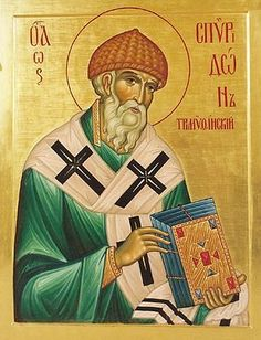 St Spyridon the Wonderworker and Bishop of Tremithus / OrthoChristian.Com