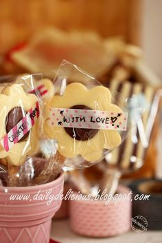 dailydelicious: Jam Sand Cookie Pops: Love, love, love, my lovely ...