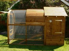 Giant Rabbit Hutch - Chicken Coop & Houses - Custom Sheds - Cat Runs - Dog Kennels - Curved Garden Buildings