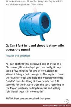 Airzooka Fart : airzooka, Funny, Amazon, Reviews, Ideas, Reviews,