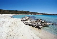 Spiaggia Relitto, Isola Caprera (La Maddalena