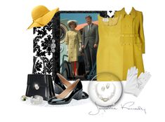 """""""Jackie O inspired"""" by leanne-mcclean ❤ liked on Polyvore featuring Courrèges, Valentino and John Lewis"""
